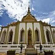 Inside The Grand Palace Bangkok Image 2 Art Print