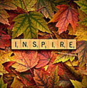 Inspire-autumn Art Print
