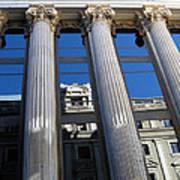 Institute Of Cervantes In Madrid Art Print