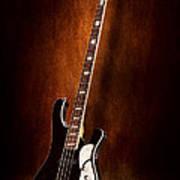 Instrument - Guitar - High Strung Art Print