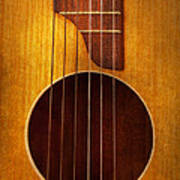Instrument - Guitar - Let's Play Some Music  Art Print