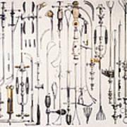 Instruments For Removing Bladder Stones Art Print