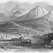 Inter-oceanic Railroad Art Print