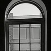 Interior - Windows In Black And White Art Print