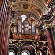 Interior St Stanislaus Church - Posnan Art Print