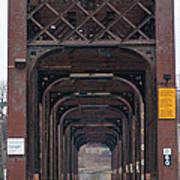 International Bridge 9671 Art Print