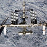 International Space Station Art Print