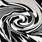 Intoxicated Zebra..... Art Print