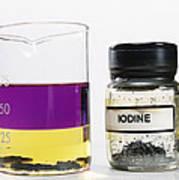 Iodine Properties Art Print
