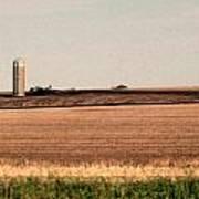 Iowa Landscape V Art Print