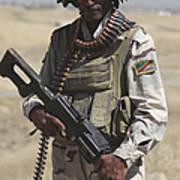 Iraqi Army Soldier Art Print