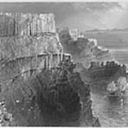 Ireland: Cliffs, C1840 Art Print