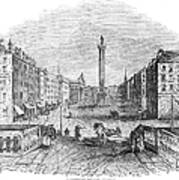 Ireland: Dublin, 1843 Art Print