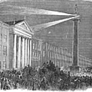 Ireland: Dublin, 1849 Art Print
