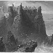Ireland: Dunluce Castle Art Print