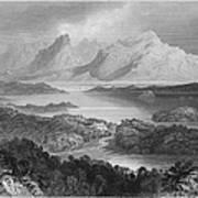 Ireland: Garromin Lake Art Print