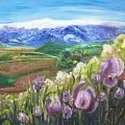 Iris Hill Watches Hermon Art Print