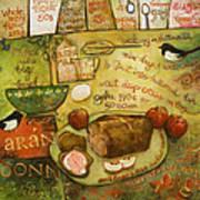 Irish Brown Bread Art Print