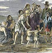 Irish Great Potato Famine Art Print