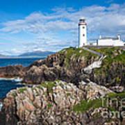 Irish Lighthouse Art Print