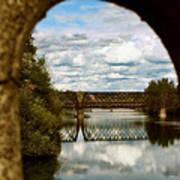 Iron Bridge Centenial Trail Art Print