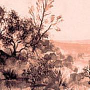 Iron Mountain Art Print