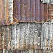 Iron Weathering A Variety Of Wall Print by Chavalit Kamolthamanon