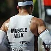 Ironman Muscle Milk Art Print