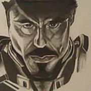 Ironman Art Print by Shawn Brooks