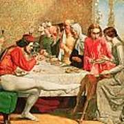 Isabella Print by Sir John Everett Millais