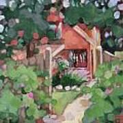 Island Cottage Art Print