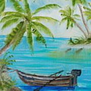 Island Paridise  Art Print