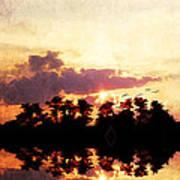 Islands In The Sky Art Print
