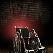 Isolation Through Disability, Artwork Art Print