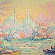 Istanbul Art Print by Paul Signac