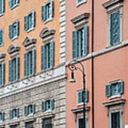 Italian Facade Art Print