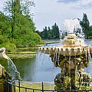 Italian Fountain London Art Print
