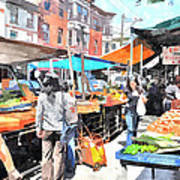 Italian Market Print by Andrew Dinh
