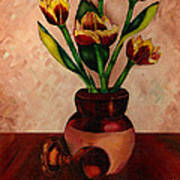 Italian Tulips Art Print