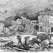 Italy: Earthquake, 1881 Art Print