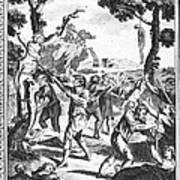 Italy: Protestant Martyrs Print by Granger