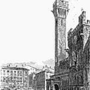 Italy: Siena, 19th Century Print by Granger
