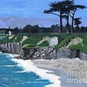 Its Beach Santa Cruz Ca Art Print