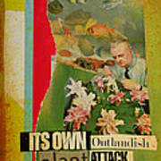 It's Own Outlandish Plant Attack Art Print by Adam Kissel