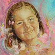 Ivana's Portrait Print by Karina Llergo