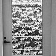 Ivy Door Art Print