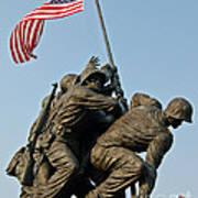Iwo Jima Memoria 2 Art Print