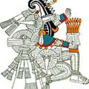 Iztlacoliuhqui, Aztec God Of Frost Art Print
