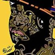 J Dilla Full Color Art Print