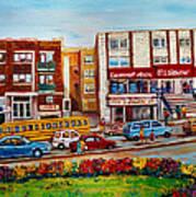 J Slawner Ltd Cote Des Neiges Art Print